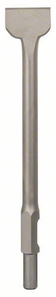 Dalta spatula cu sistem de prindere hexagonal de 30 mm 450 mm x 75 mm