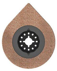 Dispozitiv pentru indepartarea mortarului, cu strat de acoperire din carburi metalice RIFF