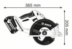 Ferastrau circular GKM 18 V-LI x 2 Acumulatori 4.0 Ah L-BOXX