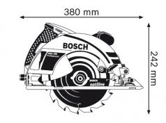 Ferastrau circular GKS 190