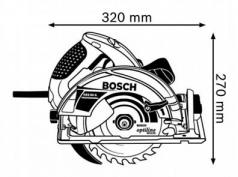 Ferastrau circular GKS 65 G