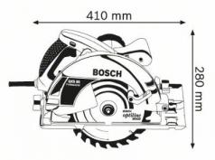 Ferastrau circular GKS 85