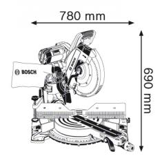 Ferastrau circular stationar GCM 12 GDL