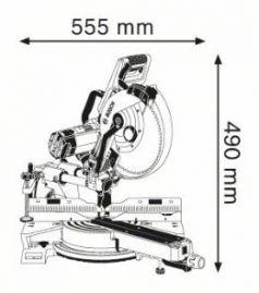 Ferastrau circular stationar GCM 350-254