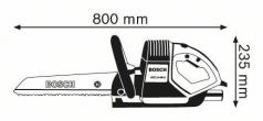 Ferastrau coada vulpe GFZ 16-35 AC