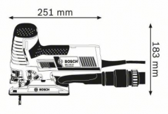 Ferastrau vertical GST 140 CE