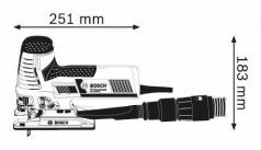 Ferastrau vertical GST 160 CE