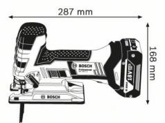Ferastrau vertical GST 18 V-LI S Solo (fara acumulatori si incarcator)