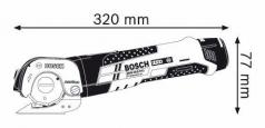 Foarfeca universala GUS 10.8 V-LI x 2 Acumulatori 2.0 Ah L-BOXX