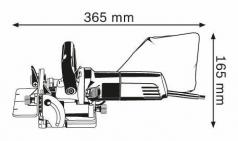 Masina de frezat GFF 22 A pentru dibluri plate