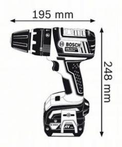 Masina de gaurit cu percutie GSB 14.4 V-LI x 2 acumulatori 4 Ah