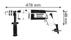 Masina de gaurit GBM 16-2 RE