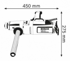Masina de gaurit GBM 23-2 E