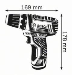 Masina de gaurit si insurubat GSR 10.8-2-LI x 2 Acumulatori 1.5 Ah