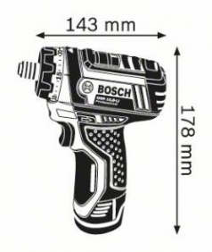 Masina de gaurit si insurubat GSR 10.8 LI x 2 Acumulatori de 1.5 Ah L-BOXX