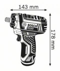 Masina de gaurit si insurubat GSR 10.8 LI x 2 Acumulatori de 2.0 Ah L-BOXX