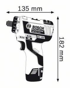 Masina de gaurit si insurubat GSR 10.8 V-EC HX x 2 Acumulatori 2.0 Ah L-BOXX