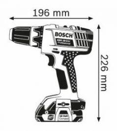 Masina de gaurit si insurubat GSR 18-2-LI x 2 Acumulatori 1.3 Ah