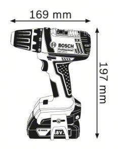 Masina de gaurit si insurubat GSR 18-2-LI x 2 Acumulatori 1.5 Ah L-BOXX