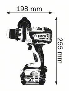 Masina de gaurit si insurubat GSR 18 VE-EC x 2 Acumulatori 5.0 Ah L-BOXX