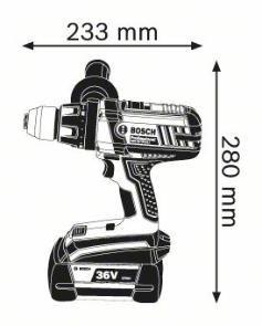Masina de gaurit si insurubat GSR 36 VE-2-LI x 2 Acumulatori 4.0 Ah L-BOXX