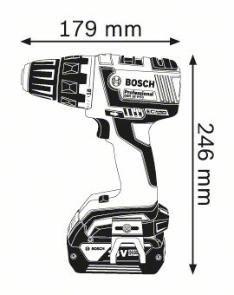 Masina de gaurit si insurubat GSR 18 V-EC x 2 Acumulatori 5.0 Ah L-BOXX
