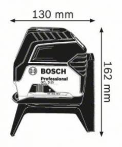 Nivela laser cu linii GCL 2-15 + Clema pentru tavan + Valiza profesionala