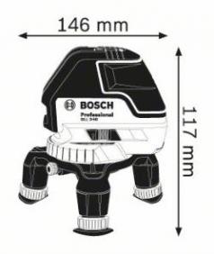 Nivela laser cu linii GLL 3-50 + Geanta de protectie