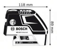 Nivela laser cu puncte GCL 25 +Stativ pentru constructii BS 150 Profesional