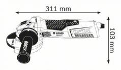 Polizor unghiular GWS 19-125 CIE
