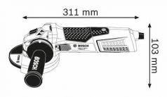 Polizor unghiular GWS 19-150 CI