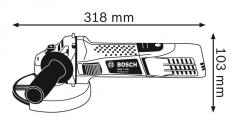 Polizor unghiular GWS 7-125