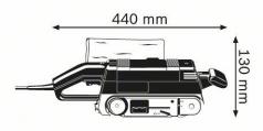 Slefuitor cu banda GBS 75 AE