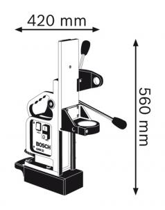 Suport cu magnet pentru masina de gaurit GMB 32