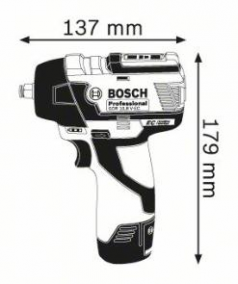 Surubelnita cu impact GDS 10.8 V-EC Solo (fara acumulatori si incarcator)