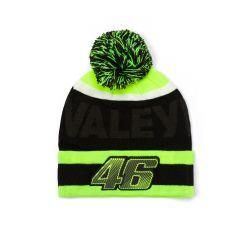 Caciula Valentino Rossi, negru verde