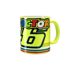 Cana Valentino Rossi, portelan, The Doctor, Multicolor