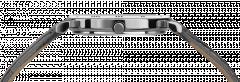 Ceas dama Roma cu carcasa din otel inoxidabil 31mm, curea din piele, mecanism Ronda 762, rezistent la apa 3 ATM