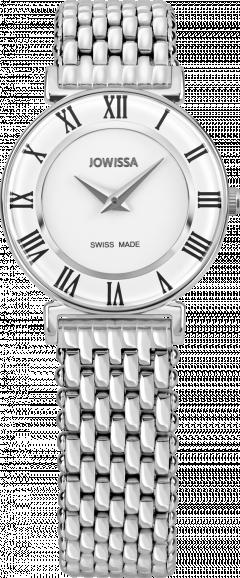 Ceas dama Roma cu carcasa din otel inoxidabil 31mm, curea din otel inoxidabil, mecanism Ronda 762, rezistent la apa 3 ATM