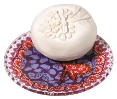 Heliotrope Gingembre Set sapun-savoniera 150g