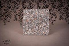 Blat Granit Pearl Red 2 cm, decupaj patrat