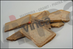 Piatra naturala gneiss gri-alb, forme mici