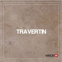 Placaj Travertin Crosscut Light 40.6*40.6*1.2cm