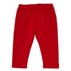 Pantalon lung copii Chicco, fetite, rosu, 98