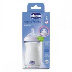 Biberon Chicco STEP UP, 330ml, t.s., flux rapid, 6luni+, 0%BPA