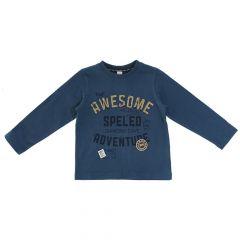 Bluza copii Chicco, albastru, 122