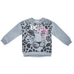 Bluza copii Chicco, gri cu model, 98