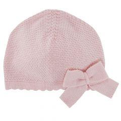 Caciulita tricotata copii Chicco, fetite, roz, 04114
