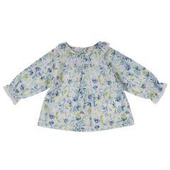Camasa cu maneca lunga copii Chicco, fete, imprimeu floral, 62