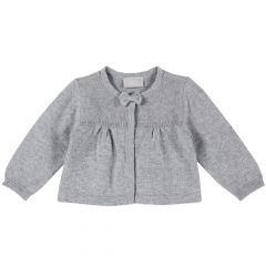 Cardigan copii Chicco, gri, 56
